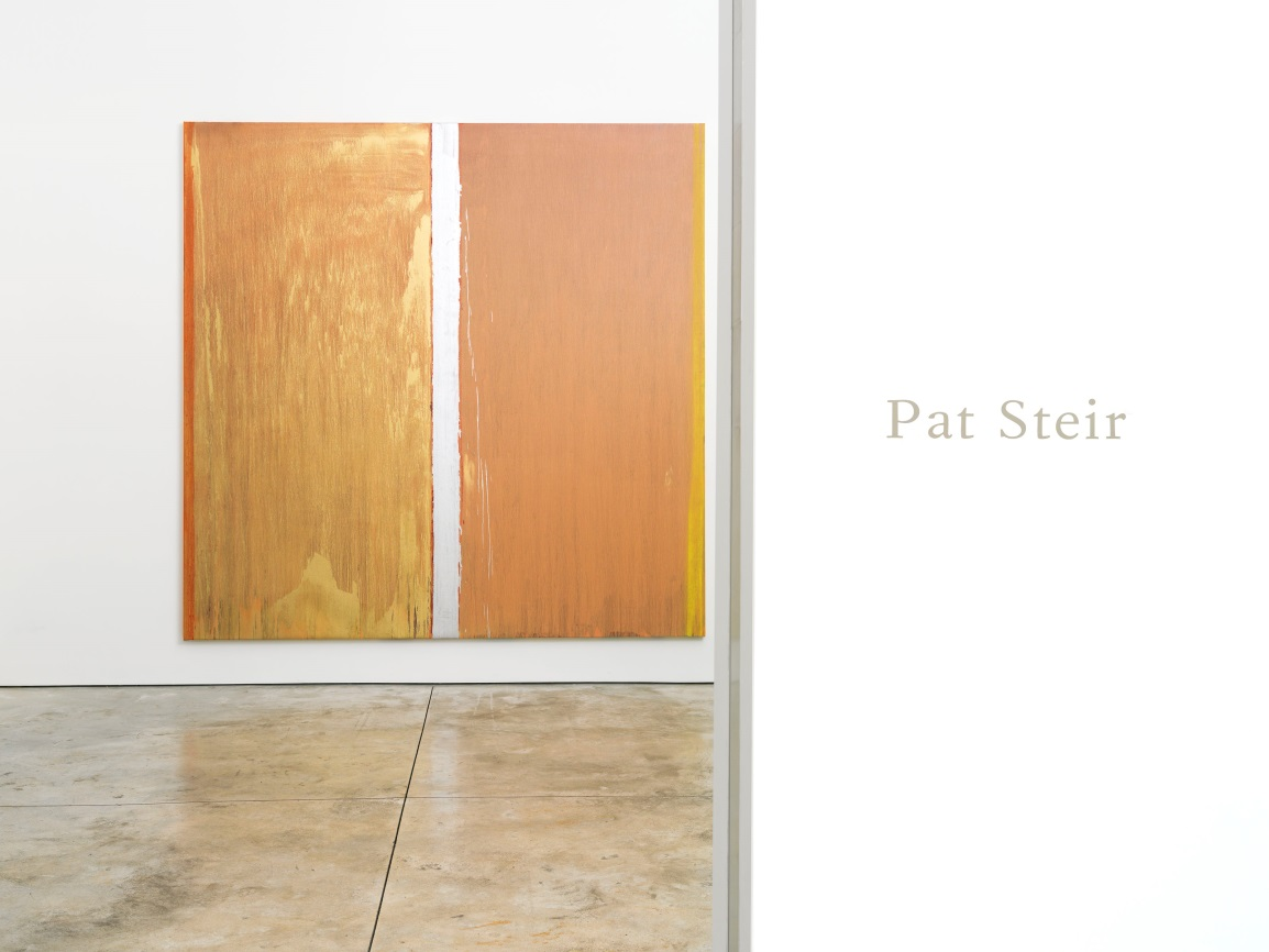 Installation view of exhibition entrance, with Colors without Names. Courtesy Cheim & Read, New York.