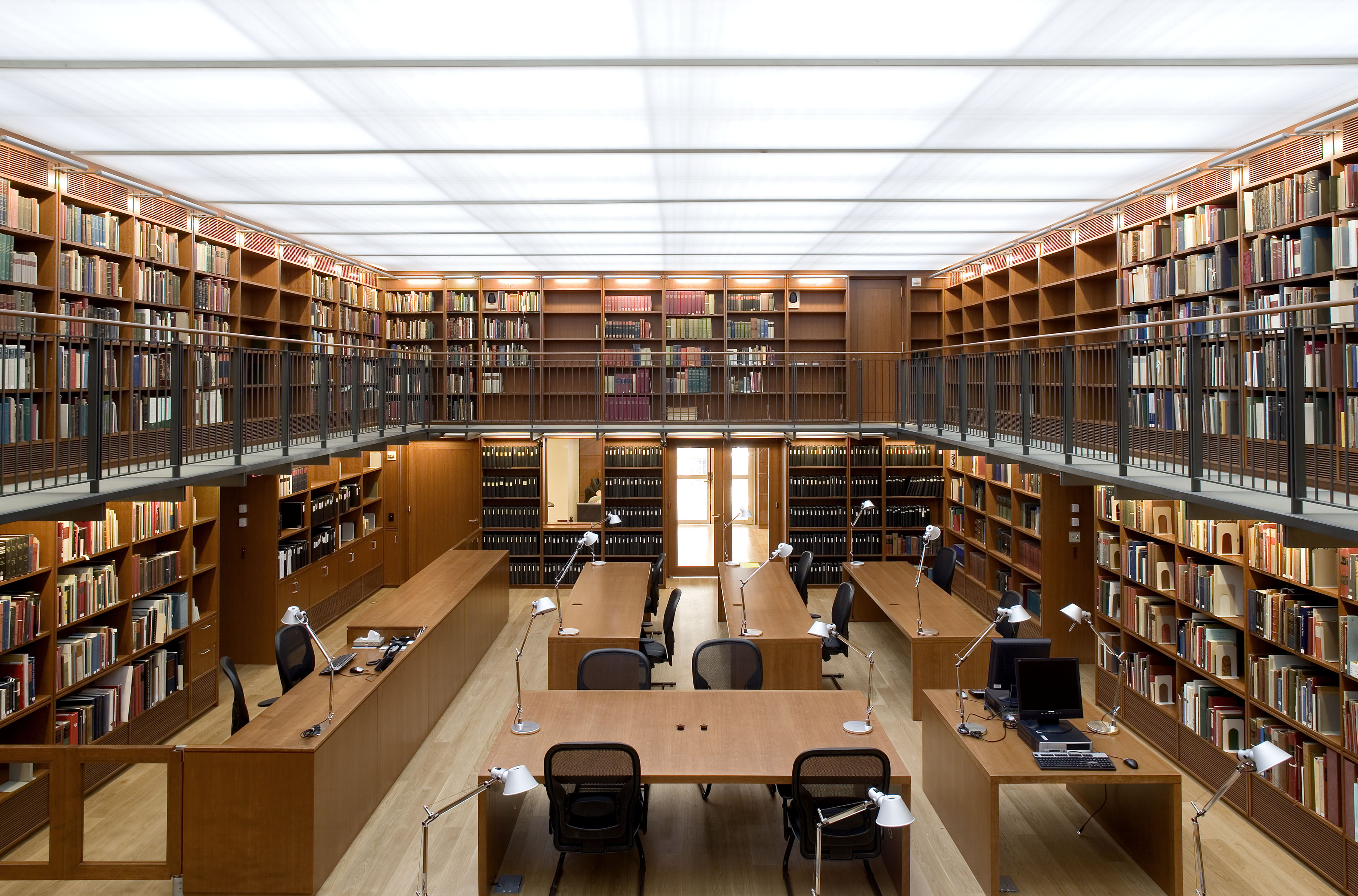 The Reading Room at the Morgan Library & Museum. Photography by Michel Denancé. Image courtesy of The Morgan Library & Museum.