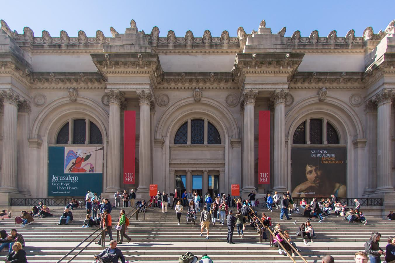 The Metropolitan Museum of Art David H. Koch Plaza.  Image courtesy of The Metropolitan Museum of Art. © The Metropolitan Museum of Art.